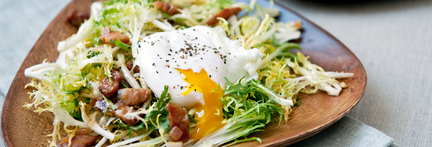 Salade lyonnaise,